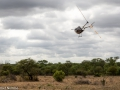 Elephant Rescue helicopter