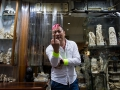 An ivory dealer expressing his feelings about the campaign to ban the domestic ivory trade in Hong Kong